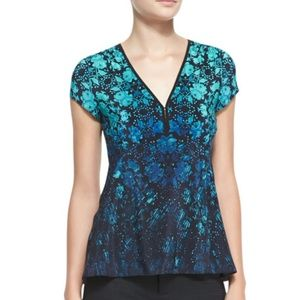 Nanelle Lepore | Motive Floral Print Silk Top